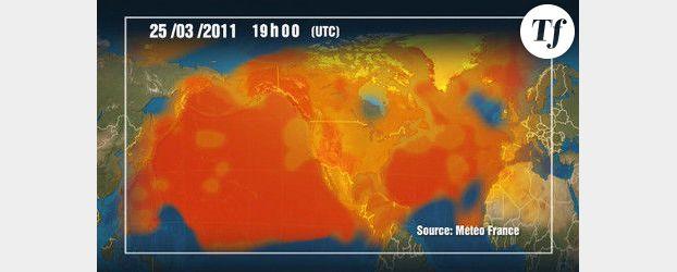 Nuage radioactif : un site pour suivre la radioactivité de l'air en France
