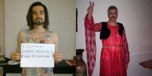 Un homme condamné à être déguisé en femme en Iran - vidéo