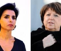 Rachida Dati et Martine Aubry font leur retour sur Twitter