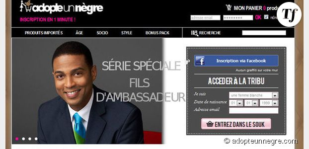 AdopteUnNègre.com : qui se cache derrière ce vrai/faux site de rencontre ?