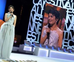 Cannes 2013 : la surprenante robe  d'Audrey Tautou