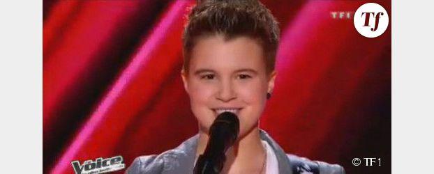 """The Voice 2 : Loïs chante """"Jeune et con"""" de Saez - Vidéo TF1 Replay"""