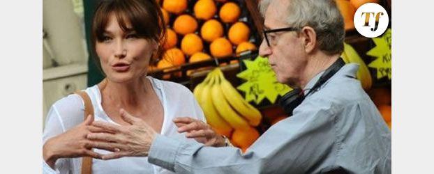 La vidéo de Carla Bruni dans le film de Woody Allen enfin en ligne