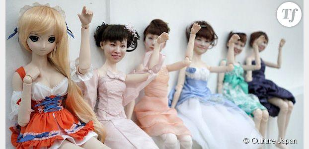 Les poupées à visage humain débarquent au Japon