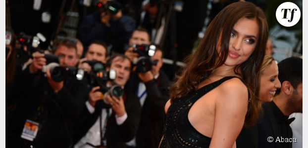 Cannes 2013 : robe très sexy pour Irina Shayk la chérie de Cristiano Ronaldo  – Photo