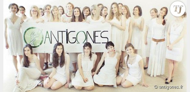 Antigones : qui sont ces anti-Femen en robes blanches ?