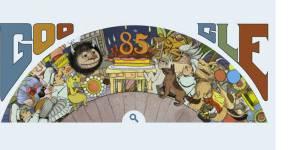Google : Maurice Sendak et ses Maximonstres à l'honneur