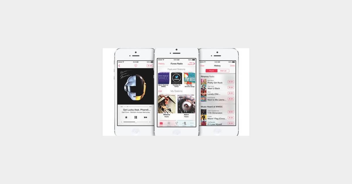 Itunes Radio Apple Se Lance Dans La Musique Avec Un