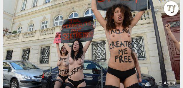 Femen Tunisie : les féministes lancent un appel aux manifestants turcs