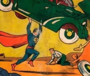 Man of Steel: le comic book de Superman vendu à 130 000€