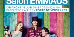 Salon Emmaüs 2013 du dimanche 16 juin : prix, lieu et infos pratiques