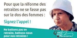 Retraite des femmes : l'appel des féministes face aux inégalités