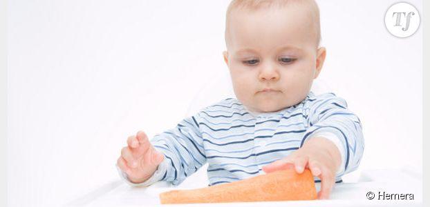 Laissez votre bébé manger avec les doigts, c'est bon pour lui