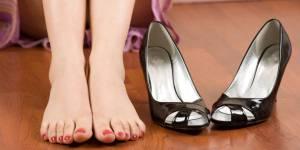 Les talons hauts très mauvais pour la santé de vos pieds