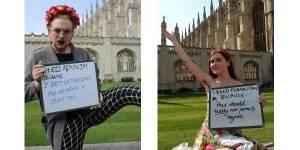Les étudiants de Cambridge font le buzz avec une campagne féministe