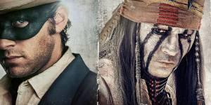 Lone Ranger : accident de cheval pour Johnny Depp - Vidéo