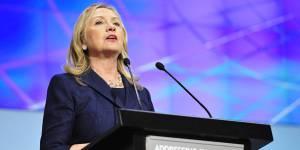 Hillary Clinton veut une femme présidente des États-Unis