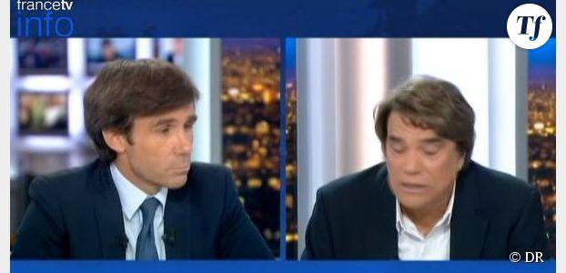 Bernard Tapie s'énerve sur Pujadas : « Vous vous foutez de ma gueule ? » - Replay