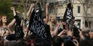 Femen : leur page Facebook bloquée pour pornographie