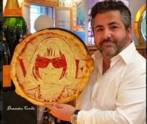 Les pizzas Anna Wintour ou Rihanna signées Domenico Crolla