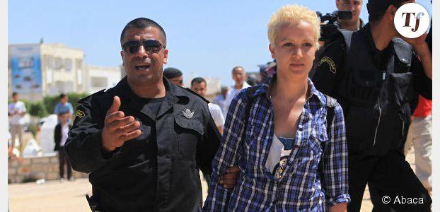 Femen Tunisie : Amina l'insoumise refuse le voile devant ses juges