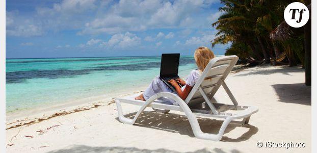 1 Français sur 4 pense qu'il n'est pas gênant de travailler pendant les vacances