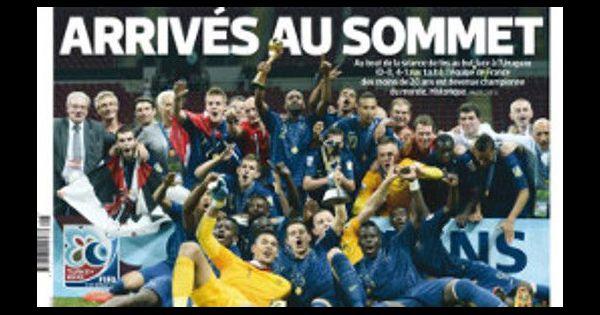 Coupe du monde u20 les bleuets redorent le blason du foot fran ais - Jeux de foot match coupe du monde ...