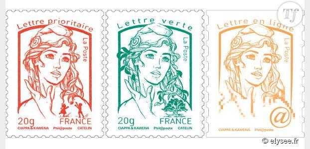 Nouveau timbre : une Marianne à l'effigie des Femen ?