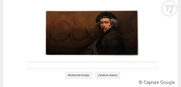 Google : un doodle célèbre l'anniversaire du peintre Rembrandt