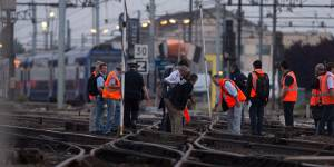 Brétigny : le trafic du RER C perturbé toute la semaine
