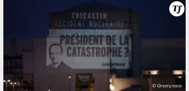 Centrale nucléaire de Tricastin : l'action de Greenpeace en vidéo
