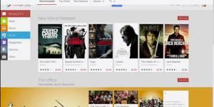 Google play s'offre un nouveau design pour la version web