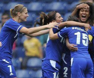 Euro 2013 de foot : les Bleues passent en quarts de finale