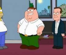 Les Griffin s'invitent chez Les Simpson