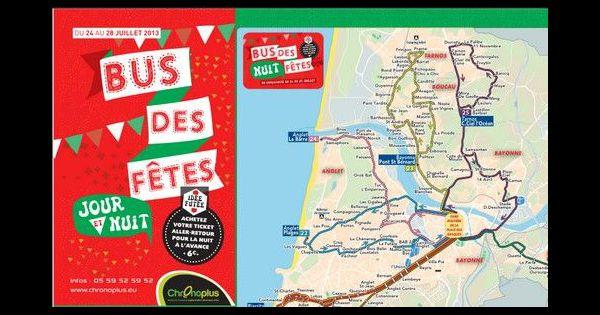 F tes de bayonne 2013 train bus et taxi jour et nuit - Horaire bus bayonne ...