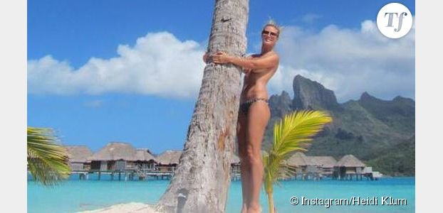 Heidi Klum : des photos sexy faites par sa maman