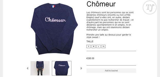 """Le Léon et son pull """"Chômeur"""" à 300 euros : quand le bobo se fout du monde"""