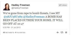 Twitter : des femmes journalistes menacées d'attentats à la bombe