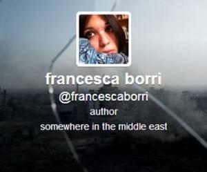 """Syrie : la pigiste italienne Francesca Borri, """"donneuse de leçons"""" ?"""