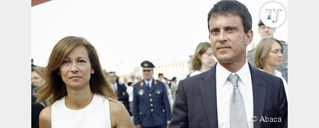 """Manuel Valls : """"pose tendresse"""" avec Anne Gravoin dans Paris Match"""