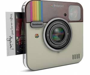 6a508fb5702df Socialmatic  Instagram lance l appareil photo connecté avec Polaroid. High  tech