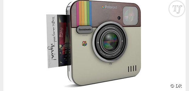 Socialmatic: Instagram lance l'appareil photo connecté avec Polaroid