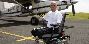 Philippe Croizon : son fauteuil roulant à 24 000 euros volé