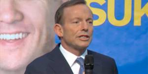 Tony Abbott : le misogyne australien a encore frappé