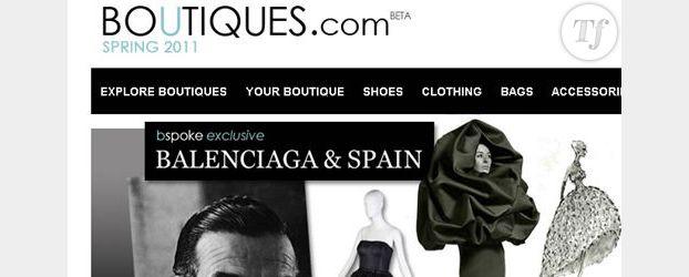 Mode : une E-boutique perso et idéale sur Boutiques.com