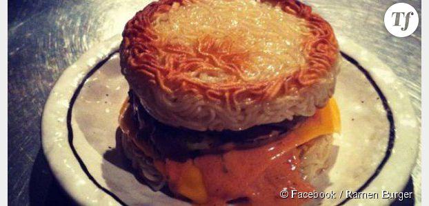 """""""Ramen Burger"""" : le nouveau hamburger que les New-Yorkais s'arrachent"""