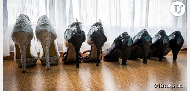 Les femmes ont en moyenne vingt paires de chaussures... et en portent cinq