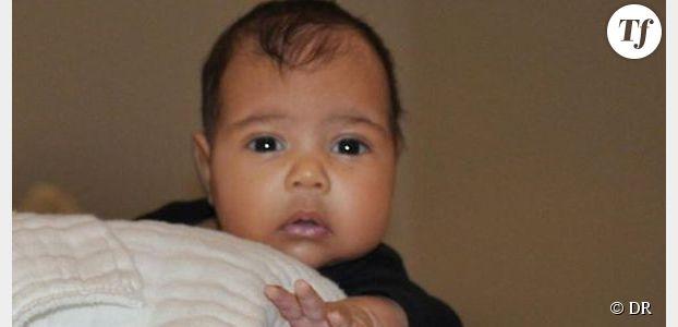North West : première photo de la fille de Kim Kardashian