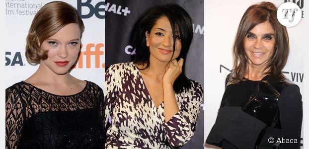 Léa Seydoux, Jeannette Bougrab, Carine Roitfeld : ces femmes qui nous inspirent à la rentrée