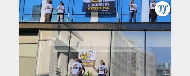 Greenpeace: opération anti-nucléaire au siège d'EDF